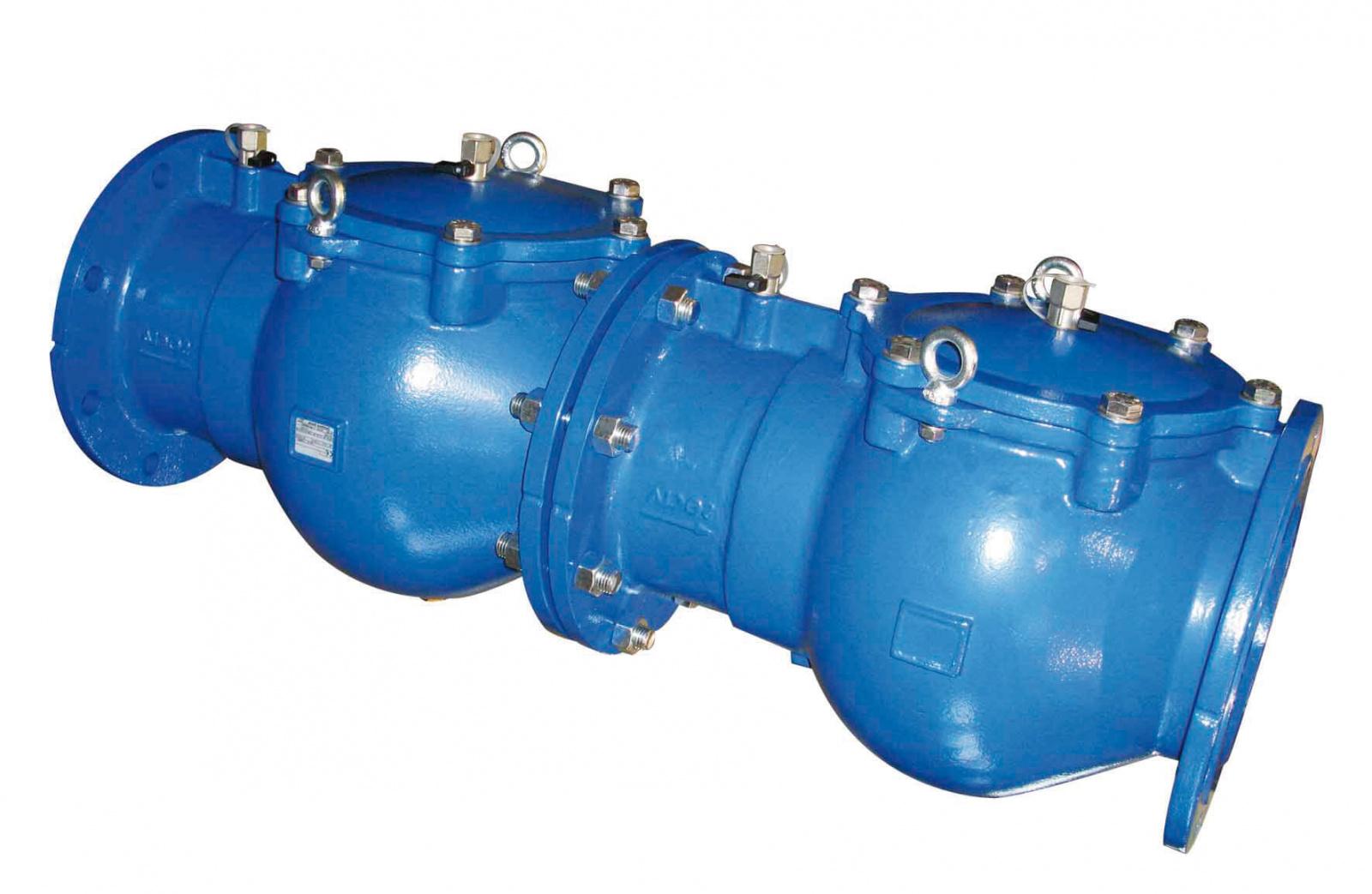 EC 453/453 Drinking Water Backflow Preventor (Double Check)