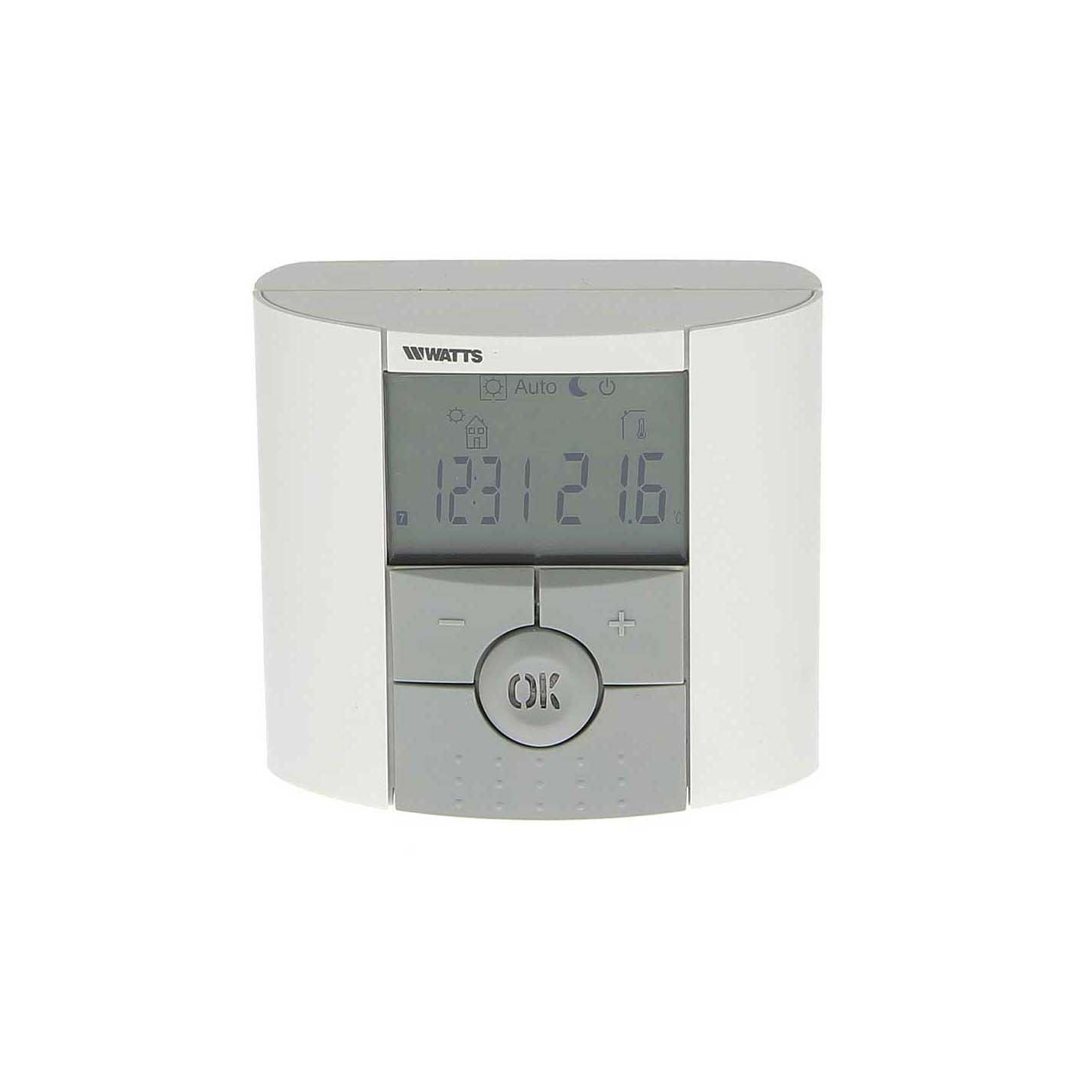 Programmable Thermostat With Floor Sensor Compatability Btdp