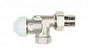 Nickel-plated thermostatic valve TVE-S