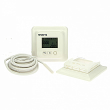 Flush mounting thermostat EFHT-LCD