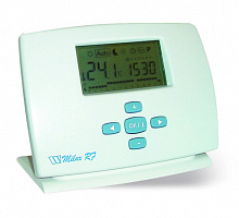 Electronic programmable room RF-thermostat MILUX-RF