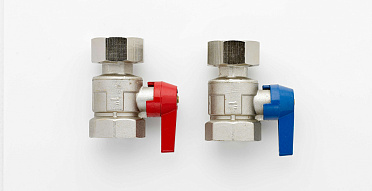 Nickle Plated Ball Valve Sets (Pair)